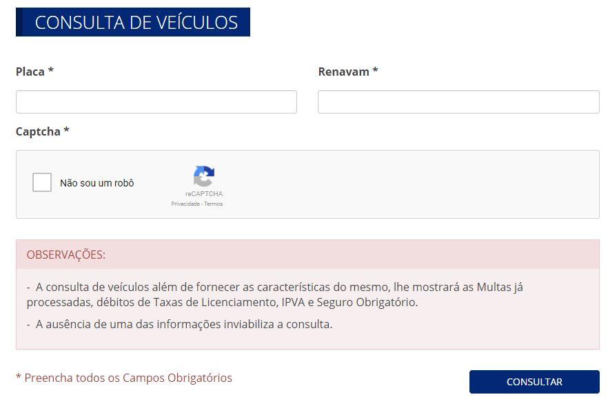 Consulta IPVA 2020 Amapá