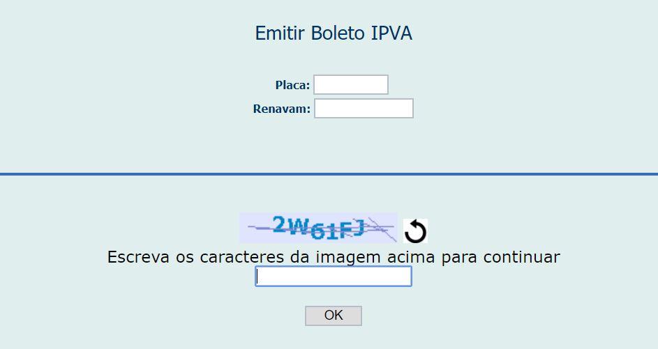 Boleto IPVA