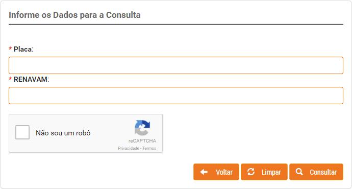 Consulta IPVA GO