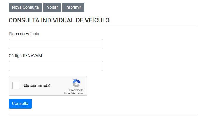 Consulta IPVA 2020 RS